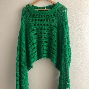 Free people Belle Sleeve knitted sweater